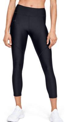 Lightweight Workout Leggings Under Armour Women UA HG Armour Shine Graphic Ankle Crop Three Quarter Leggings