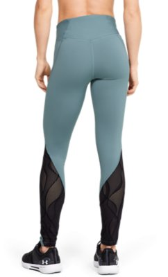 Under Armour Rush Womens Long Training Tights Grey