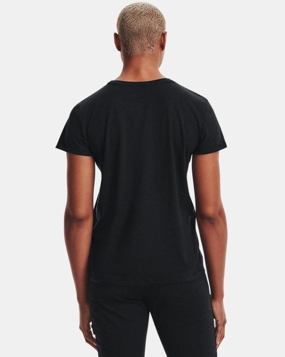 Women's UA Tactical Cotton T-Shirt, Black, pdpMainDesktop image number 2