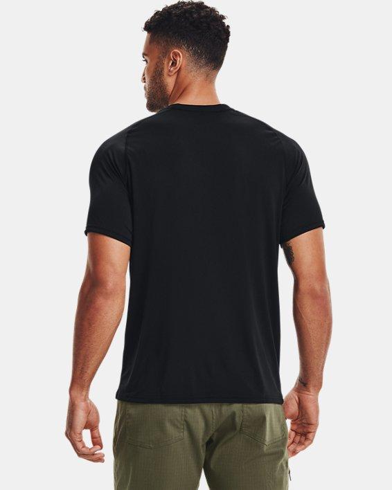 Men's UA Tactical Tech™ V-Neck Short Sleeve, Black, pdpMainDesktop image number 2