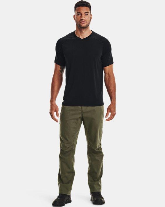 Men's UA Tactical Tech™ V-Neck Short Sleeve, Black, pdpMainDesktop image number 1