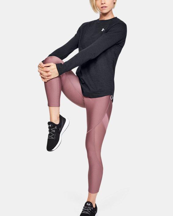 Women's Charged Cotton® Adjustable Long Sleeve, Black, pdpMainDesktop image number 1