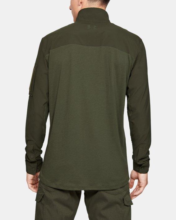 Men's UA Tactical Combat Shirt, Green, pdpMainDesktop image number 2