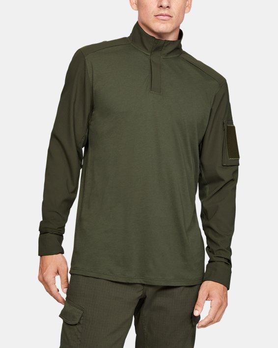 Men's UA Tactical Combat Shirt, Green, pdpMainDesktop image number 0