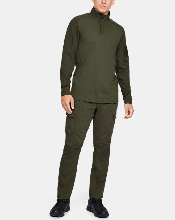 Men's UA Tactical Combat Shirt, Green, pdpMainDesktop image number 1