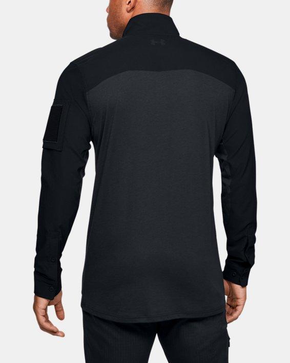 Men's UA Tactical Combat Shirt, Navy, pdpMainDesktop image number 2