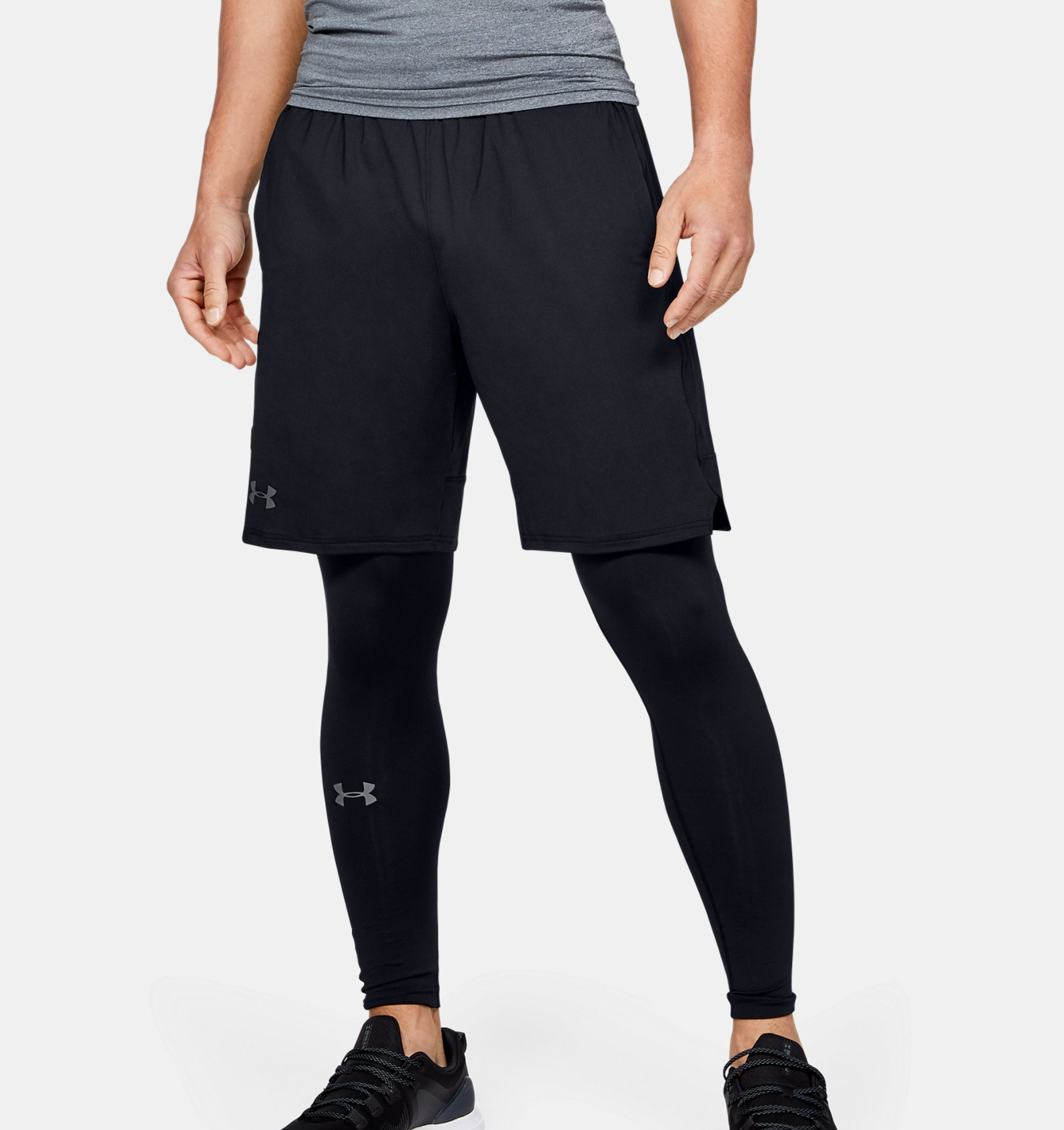 Men's UA Stretch Train Shorts, Black, pdpZoomDesktop image number 0