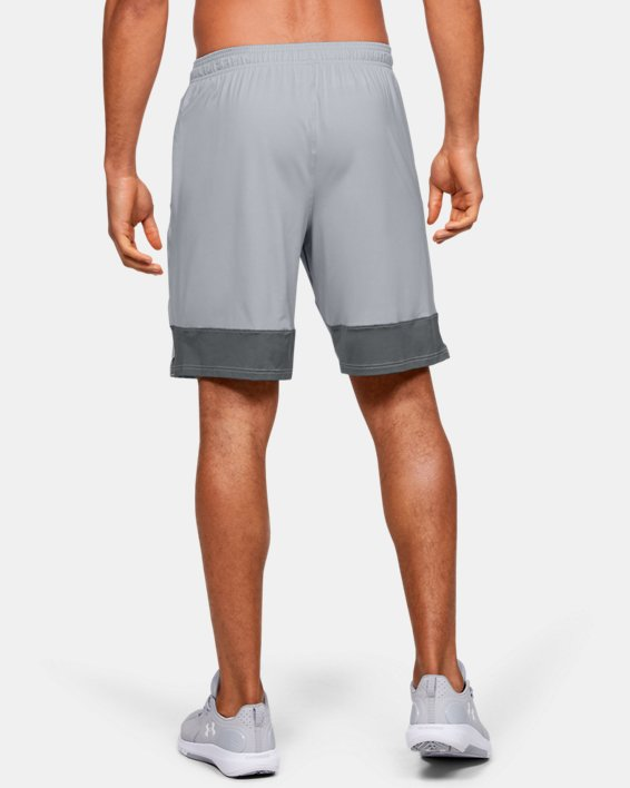 Men's UA Stretch Train Shorts, Gray, pdpMainDesktop image number 2