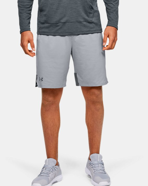 Men's UA Stretch Train Shorts, Gray, pdpMainDesktop image number 0