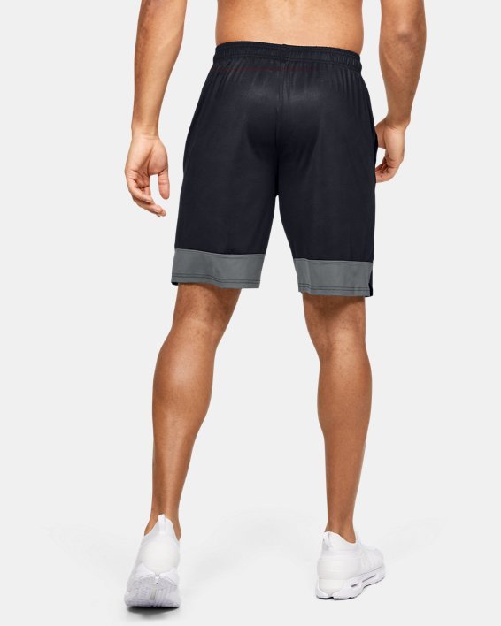 Men's UA Stretch Train Tapout Shorts, Black, pdpMainDesktop image number 2