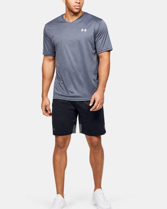 Men's UA Stretch Train Tapout Shorts, Black, pdpMainDesktop image number 1