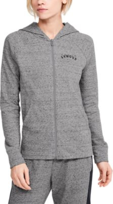 Under Armour boys Rival Terry Full Zip Sweat T-Shirt