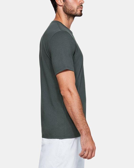 Men's UA Inline Camo Fill T-Shirt, Gray, pdpMainDesktop image number 3
