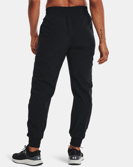 Women's UA RECOVER™ Woven Pants, Black, pdpMainDesktop image number 2