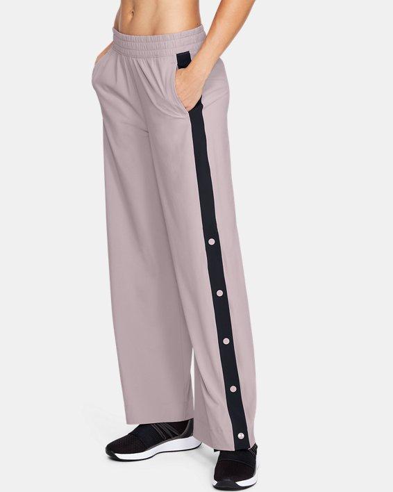 Pantalon ample UA Recover Woven pour femme, Pink, pdpMainDesktop image number 1