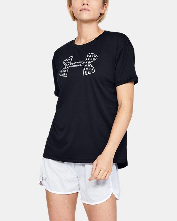 Women's UA Performance Graphic T-Shirt, Black, pdpMainDesktop image number 1