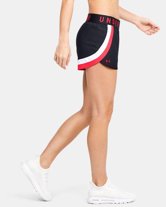 Women's UA Play Up 3.0 Shorts, Black, pdpMainDesktop image number 3