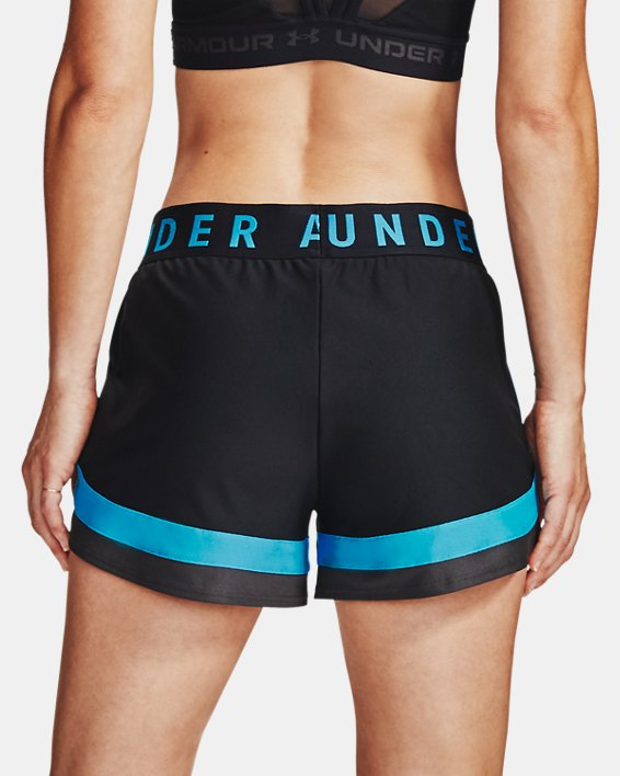 Women's UA Play Up 3.0 Shorts, Black, pdpMainDesktop image number 2
