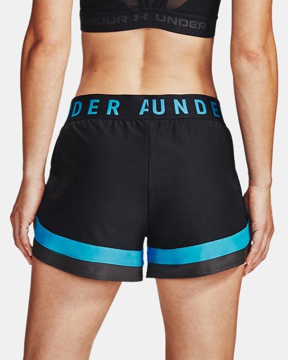 Women's UA Play Up 3.0 Shorts, Black, pdpMainDesktop image number 2