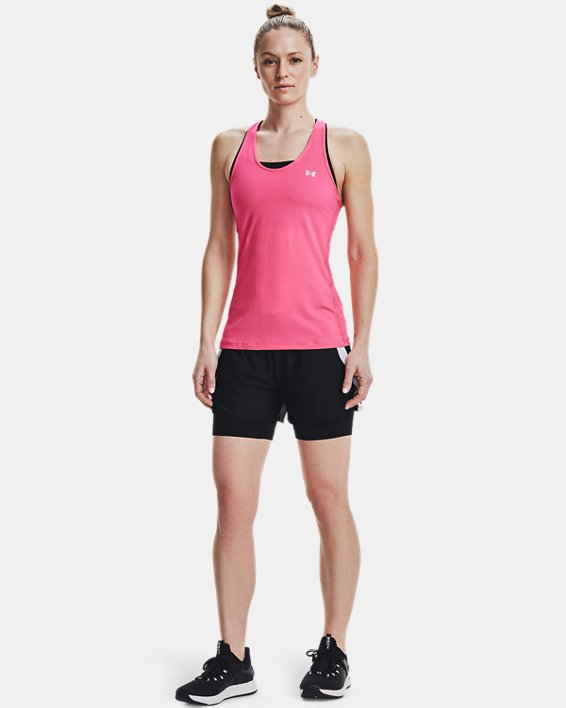 Women's UA Play Up 2-in-1 Shorts, Black, pdpMainDesktop image number 1