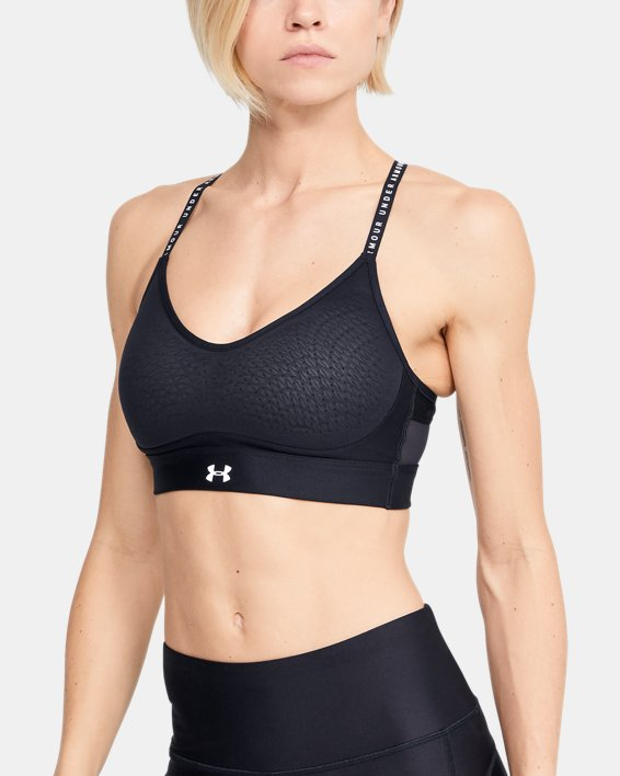 Women's UA Infinity Low Sports Bra, Black, pdpMainDesktop image number 0