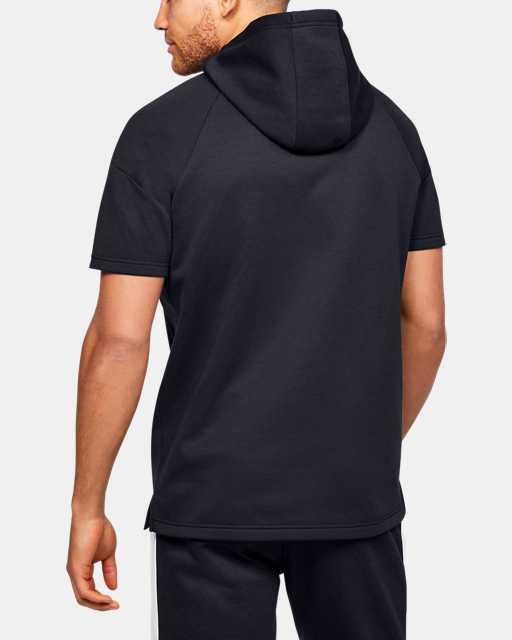 Men's UA RECOVER™ Fleece Short Sleeve Hoodie