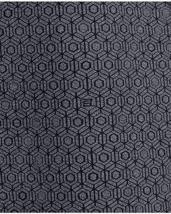 Men's UA RECOVER™ Fleece Short Sleeve Hoodie, Black, pdpMainDesktop image number 5