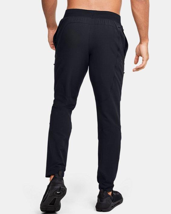 Pantalon cargo UA Flex Woven pour homme, Black, pdpMainDesktop image number 2