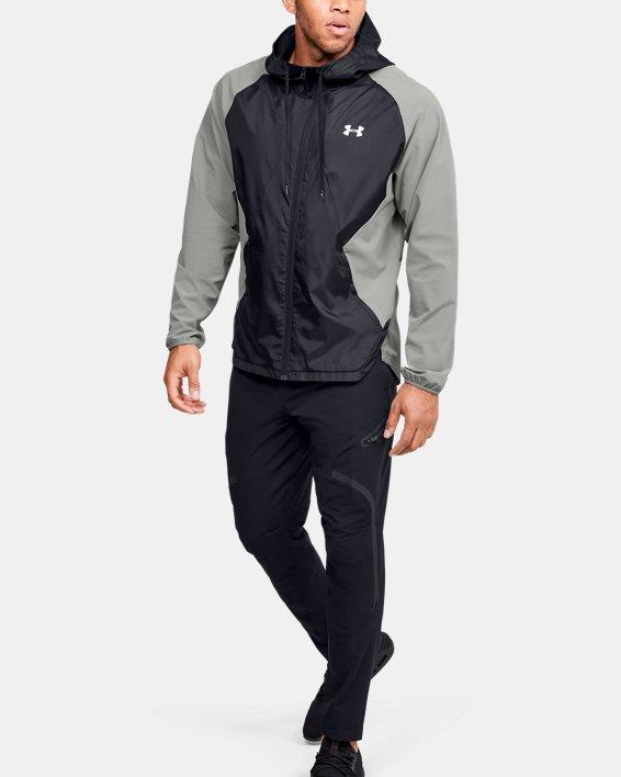 Pantalon cargo UA Flex Woven pour homme, Black, pdpMainDesktop image number 1