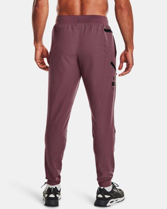 Men's UA Unstoppable Cargo Pants, Purple, pdpMainDesktop image number 1