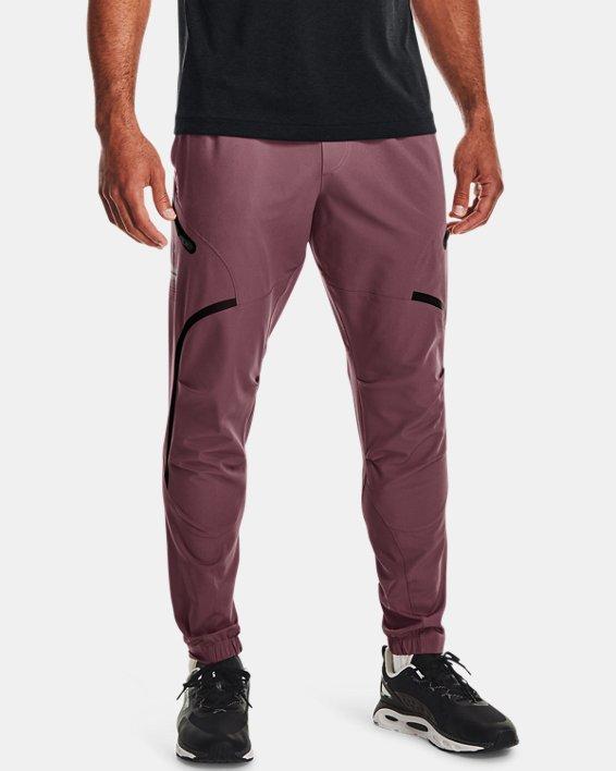 Men's UA Unstoppable Cargo Pants, Purple, pdpMainDesktop image number 0
