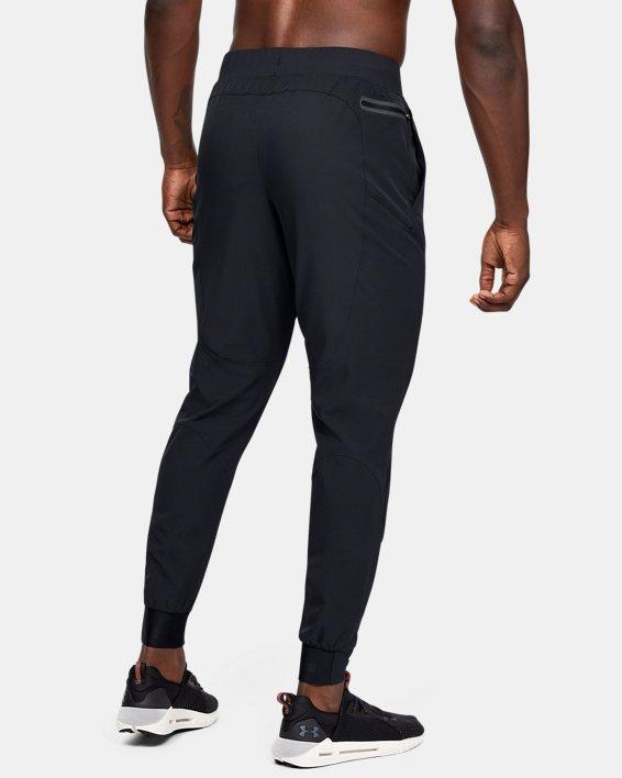 Pantalon de jogging UA Flex Woven pour homme, Black, pdpMainDesktop image number 2