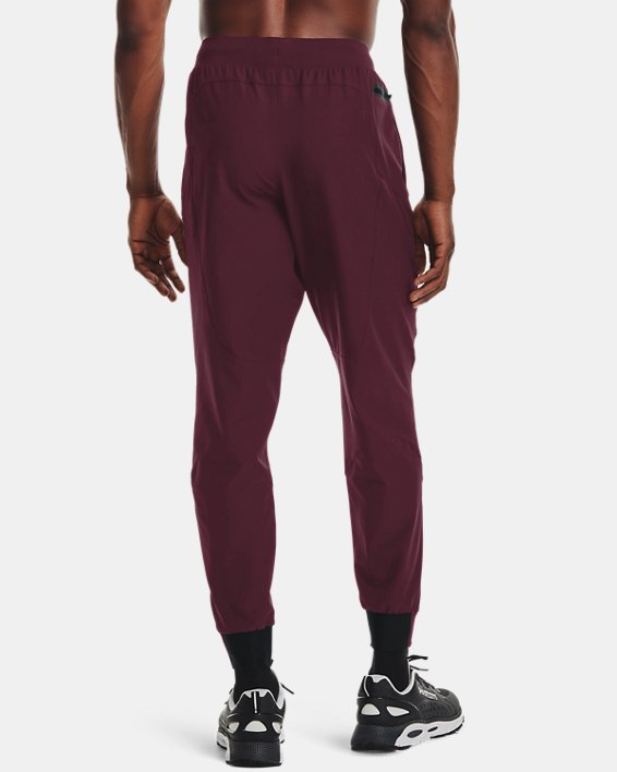 Pantalon de jogging UA Unstoppable pour homme, Red, pdpMainDesktop image number 1