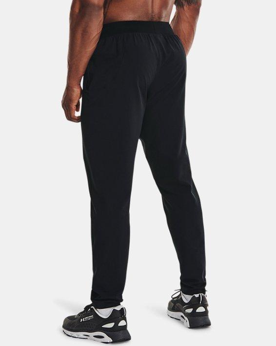 Men's UA Flex Woven Tapered Pants, Black, pdpMainDesktop image number 2