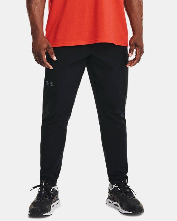 Men's UA Flex Woven Tapered Pants, Black, pdpMainDesktop image number 1