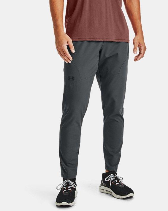Pantalón ajustado UA Unstoppable para hombre, Gray, pdpMainDesktop image number 1
