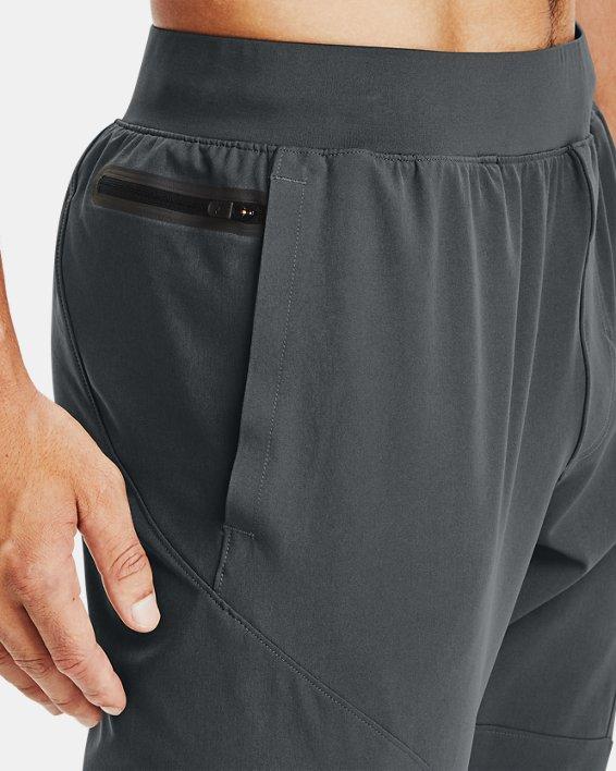 Pantalón ajustado UA Unstoppable para hombre, Gray, pdpMainDesktop image number 3