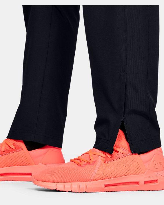 Men's UA Vital Woven Pants, Black, pdpMainDesktop image number 5