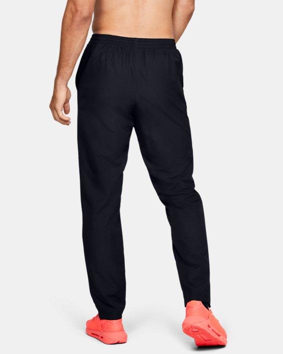 Men's UA Vital Woven Pants, Black, pdpMainDesktop image number 2
