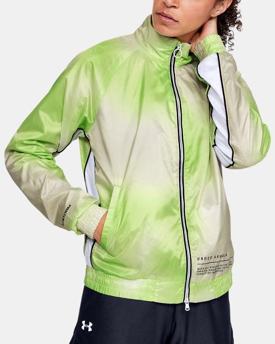 Women's UA Always On Recover Track Jacket, White, pdpMainDesktop image number 0