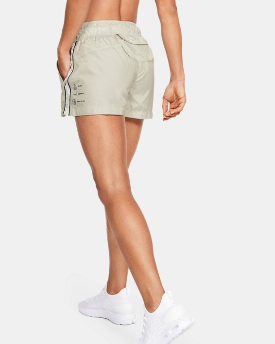 Women's UA Always On Recover Shorts, White, pdpMainDesktop image number 0