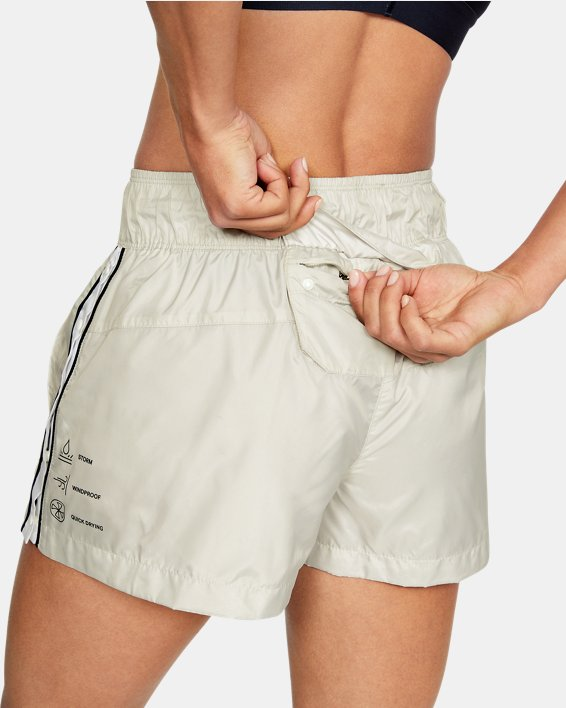Women's UA Always On Recover Shorts, White, pdpMainDesktop image number 6