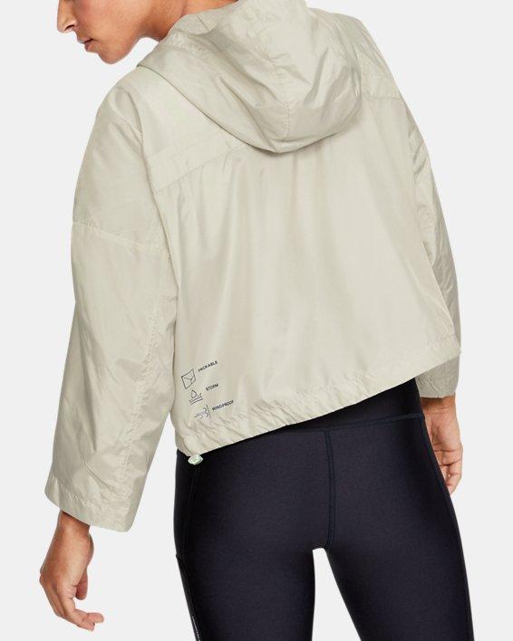 Women's UA Always On Recover Anorak Jacket, White, pdpMainDesktop image number 2