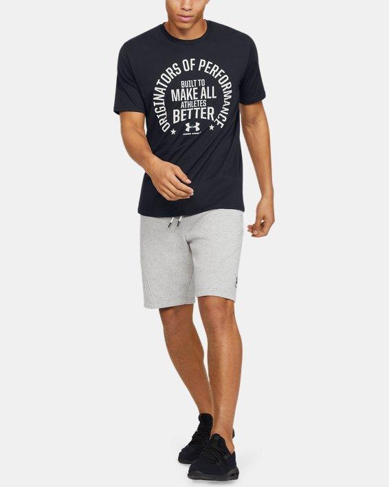 Men's UA Make All Athletes Better Short Sleeve, Black, pdpMainDesktop image number 1
