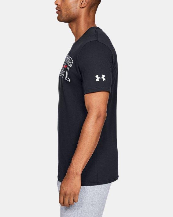 Men's UA Protect Bold Short Sleeve, Black, pdpMainDesktop image number 3