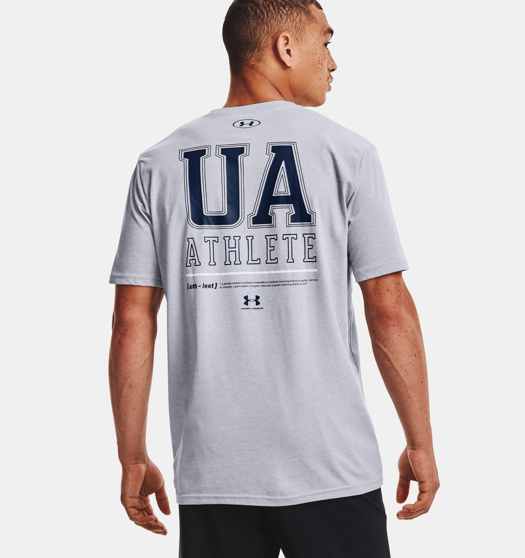 Underarmour Mens UA Vertical Left Chest Short Sleeve