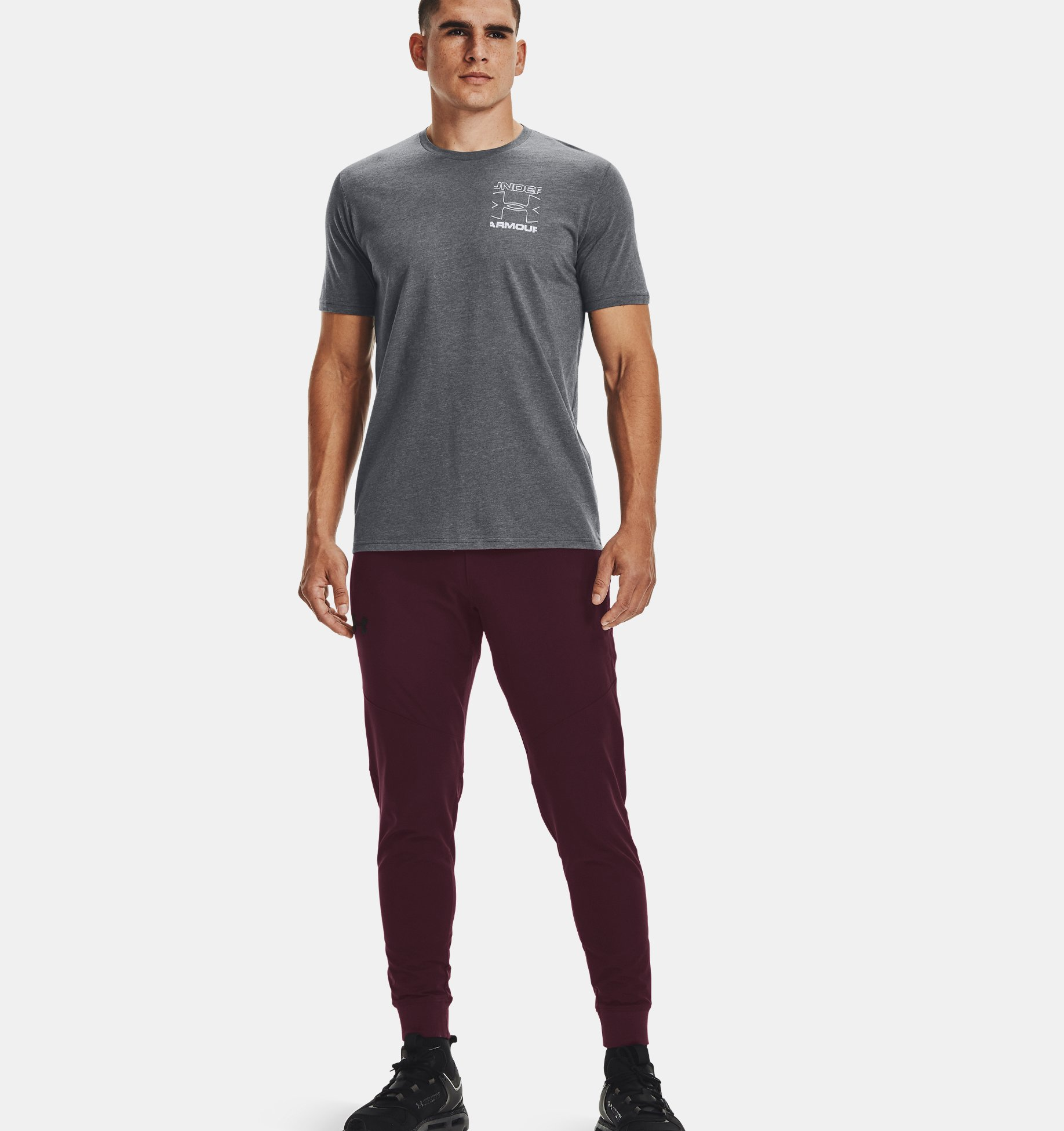 Underarmour Mens UA Branded Crop Short Sleeve