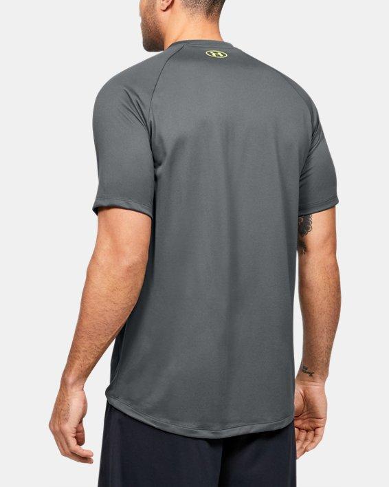 Men's UA Tech™ 2.0 Graphic Short Sleeve, Gray, pdpMainDesktop image number 2