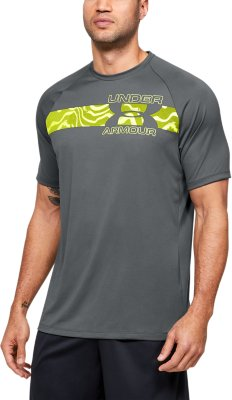 Grey Under Armour Tech 2.0 Mens Running Vest
