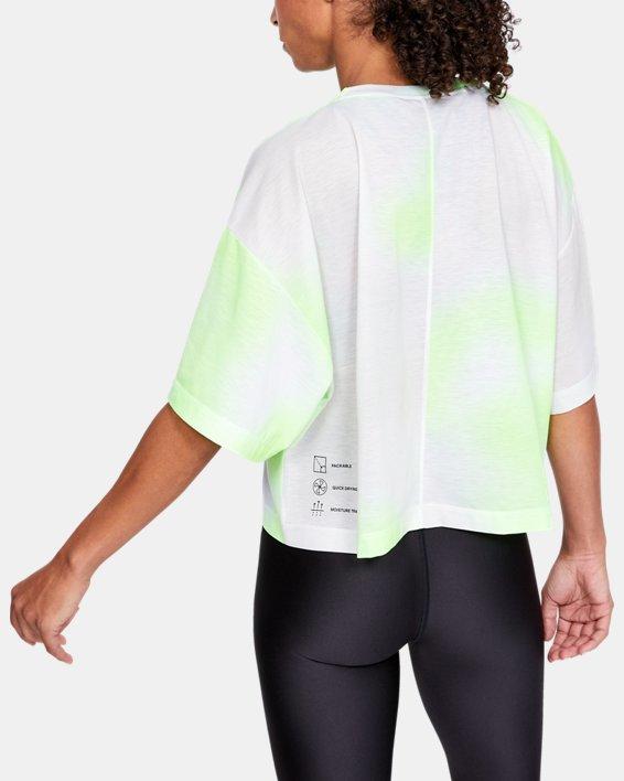 Women's UA Always On Pocket T-Shirt, White, pdpMainDesktop image number 2